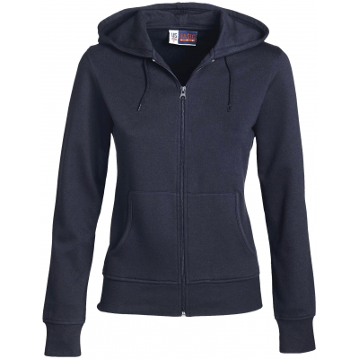 Us Basic Ladies Bravo Hooded Sweater Navy Size Small