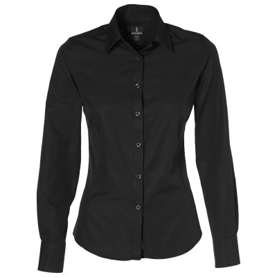 Elevate Sycamore Ladies Long Sleeve Shirt Black Size XL