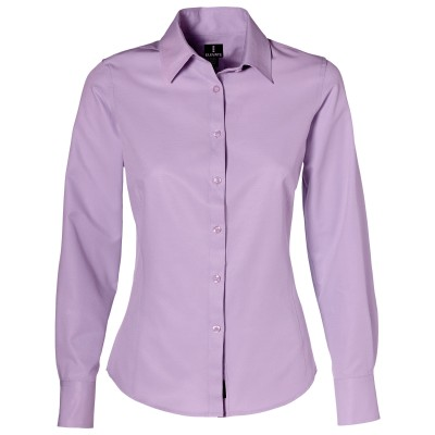 Elevate Sycamore Ladies Long Sleeve Shirt Purple Size 2XL