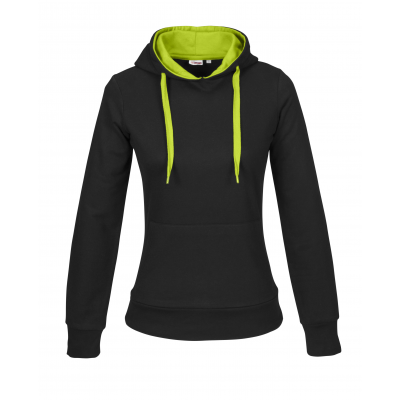 Us Basic Ladies Solo Track Top Lime Size Medium