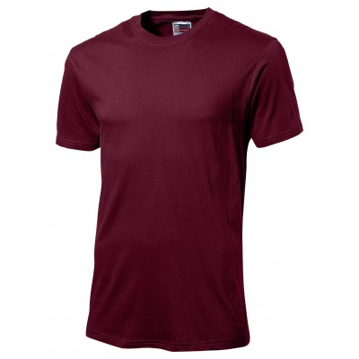 Us Basic Super Club 135 T-Shirt Dark Red Size 5XL