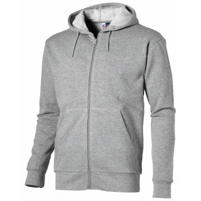 Us Basic Bravo Mens Hooded Sweater Grey Size 4XL