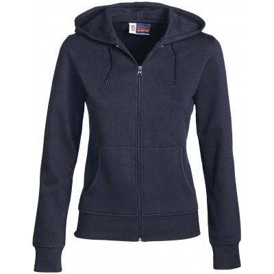 Us Basic Ladies Bravo Hooded Sweater Navy Size Large