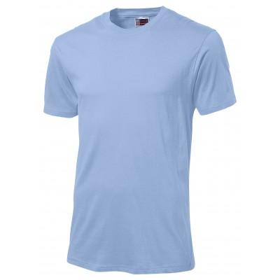 Us Basic Super Club 180 T-Shirt Light Blue Size Large