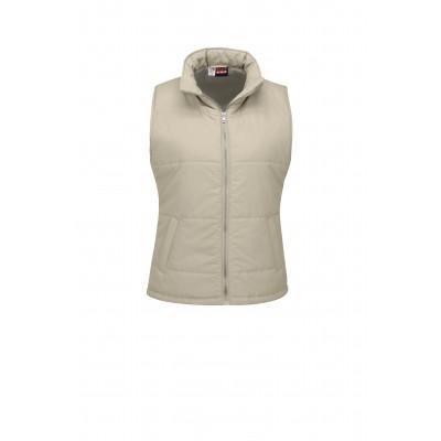 Us Basic Ladies Rego Bodywarmer Khaki Size Large