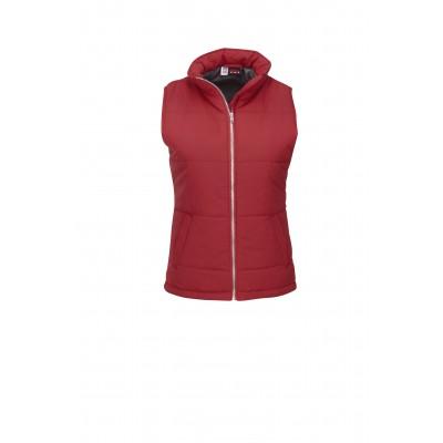 Us Basic Ladies Rego Bodywarmer Red Size Medium