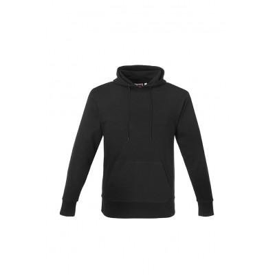 Us Basic Mens Omega Hooded Sweater Black Size Small