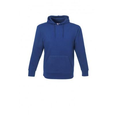 Us Basic Mens Omega Hooded Sweater Blue Size 2XL
