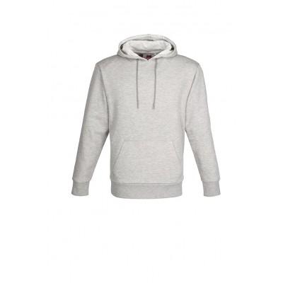 Us Basic Mens Omega Hooded Sweater Grey Size 2XL