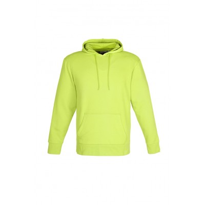 Us Basic Mens Omega Hooded Sweater Lime Size 3XL