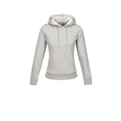 Us Basic Ladies Omega Hooded Sweater Grey Size Small