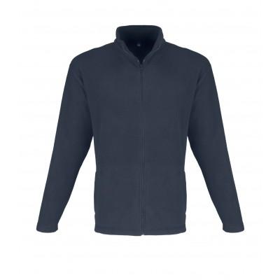 Us Basic Mens Yukon Micro Fleece Jacket Navy Size 3XL