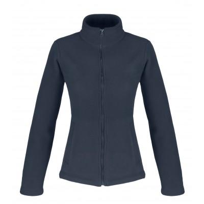 Us Basic Ladies Yukon Micro Fleece Jacket Navy Size Large