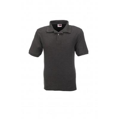 Us Basic Boston Mens Golf Shirt Charcoal Size 3XL