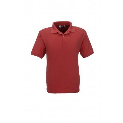 Us Basic Boston Mens Golf Shirt Red Size 4XL