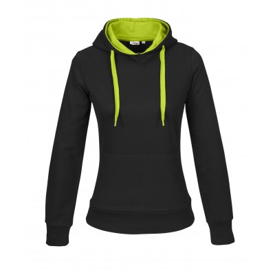 Us Basic Ladies Solo Track Top Lime Size 3XL