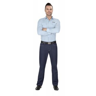 Us Basic Mens Sierra Jeans Navy Size 42