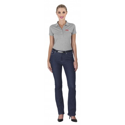 Us Basic Ladies Sierra Jeans Navy Size 32