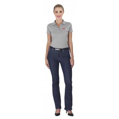 Us Basic Ladies Sierra Jeans Navy Size 38