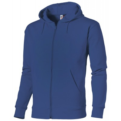 US Basic Bravo Mens Hooded Sweater Blue Size S