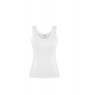 US Basic Ladies Columbia Tank Top White Size M