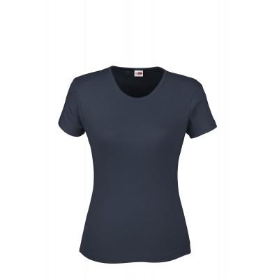 US Basic Ladies California T-Shirt Navy Size L