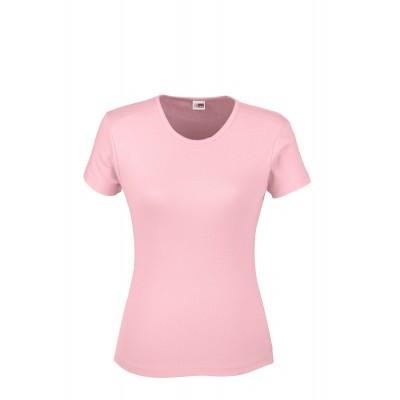 US Basic Ladies California T-Shirt Pink Size L