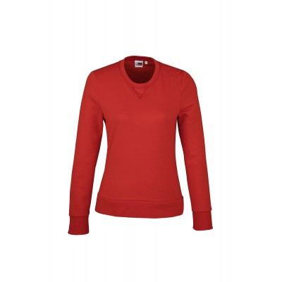 US Basic Ladies Stanford Sweater Red Size L