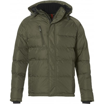 Elevate Balkan Mens Insulated Jacket Green Size XL