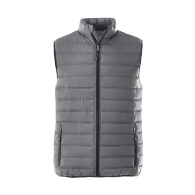 Elevate Mens Norquay Insulated Bodywarmer Grey Size M