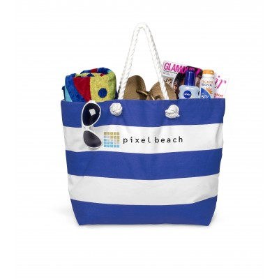 Coastline Beach Bag Blue