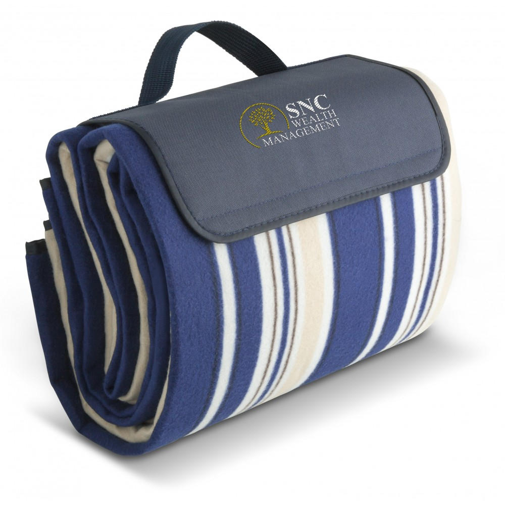 Good Life Xl 2X2 Metre Picnic Blanket Navy