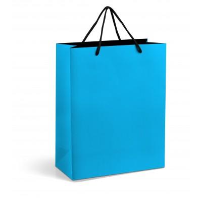Omega Midi Gift Bag Light Blue