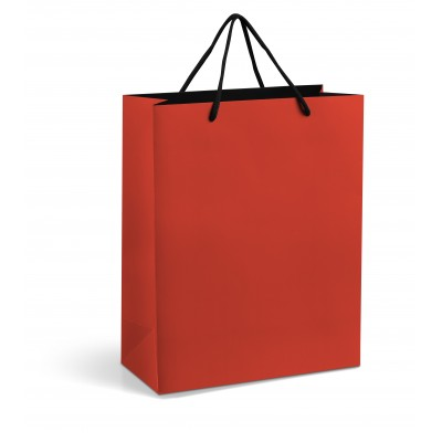 Omega Midi Gift Bag Red