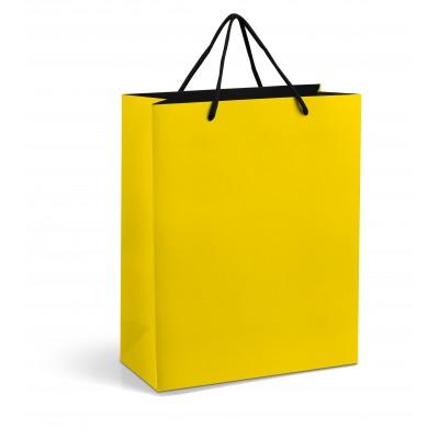 Omega Midi Gift Bag Yellow