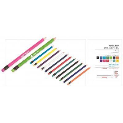 Brainiac Pencil (Sharpened) Cyan