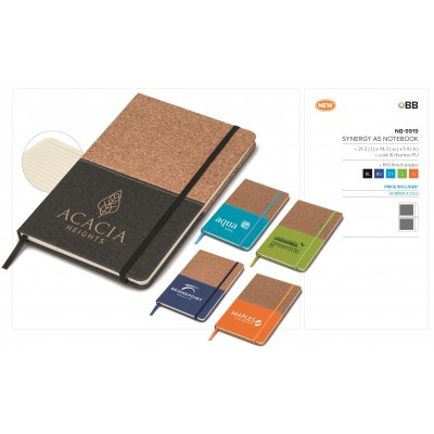 Synergy A5 Notebook Orange