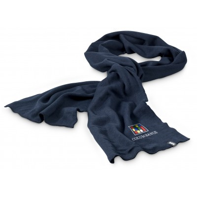 Elevate Pinnacle Scarf Navy