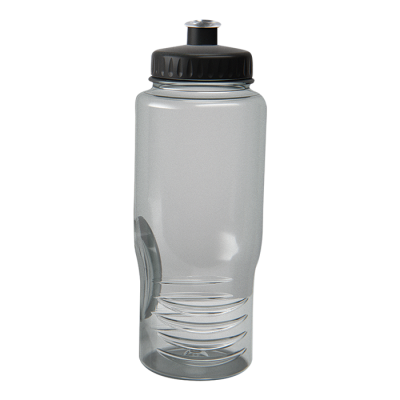 500ml Performance PET Water Bottle Smoke