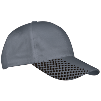6 Panel Dash Cap Silver/Black