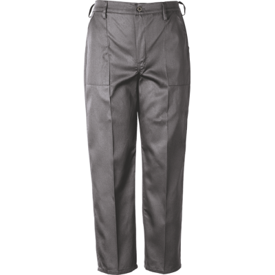 Barron Budget Poly Cotton Conti Trouser Grey Size 52