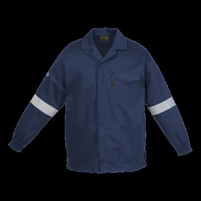 Barron D59 (SABS) Flame and Acid Retardant Conti Jacket Navy Size 40
