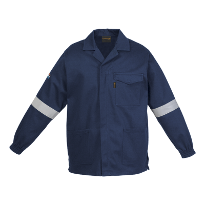 Barron D59 (SABS) Flame and Acid Retardant Conti Jacket Navy Size 46