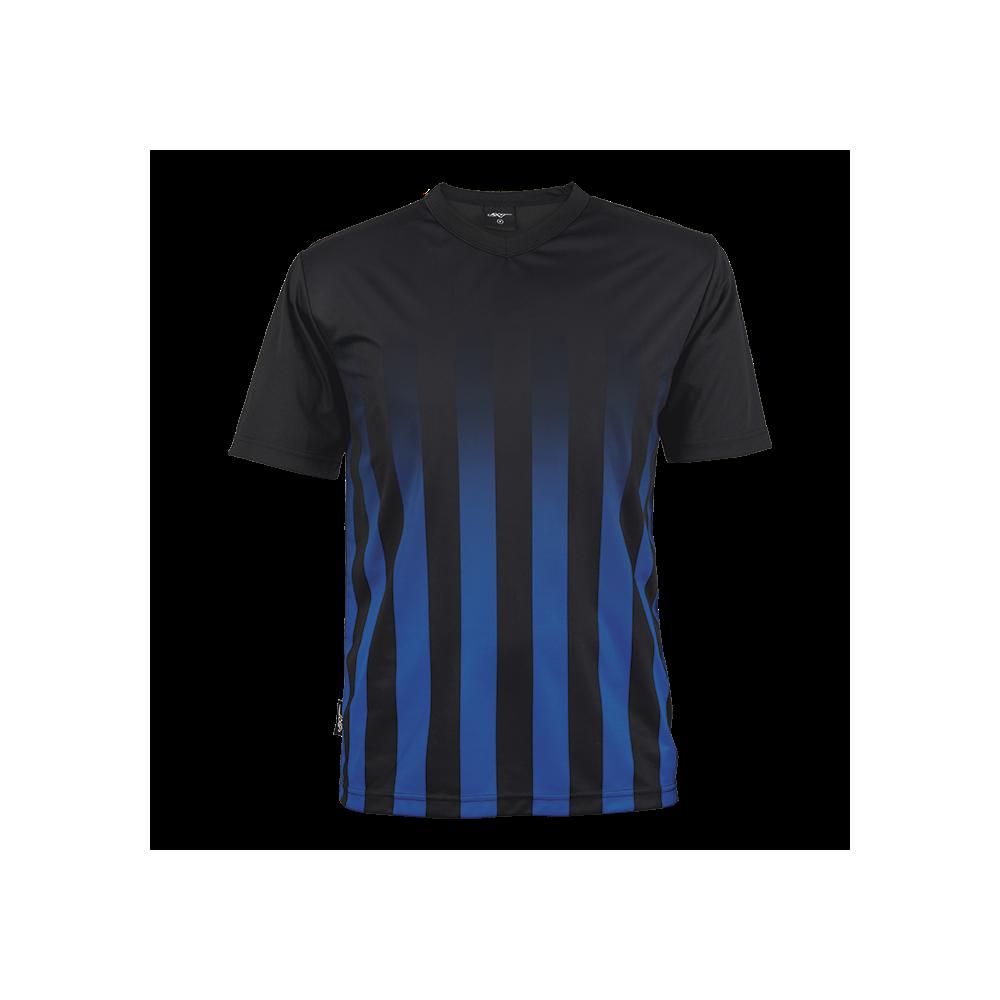 BRT Match Shirt Black/Royal Size 2XL