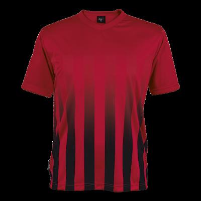 BRT Match Shirt Red/Black Size Large