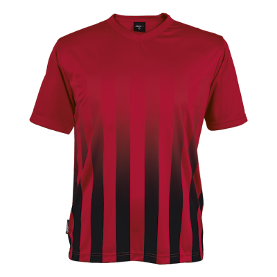 BRT Match Shirt Red/Black Size Medium