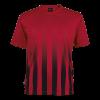 BRT Match Shirt Red/Black Size Medium