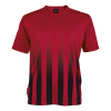BRT Match Shirt Red/Black Size Small