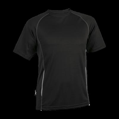 BRT Running Shirt Black Size 4XL