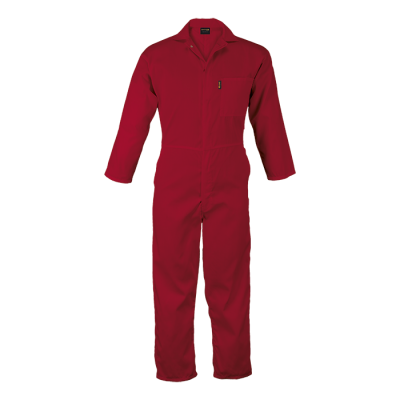 Budget Boiler Suit Red Size 48